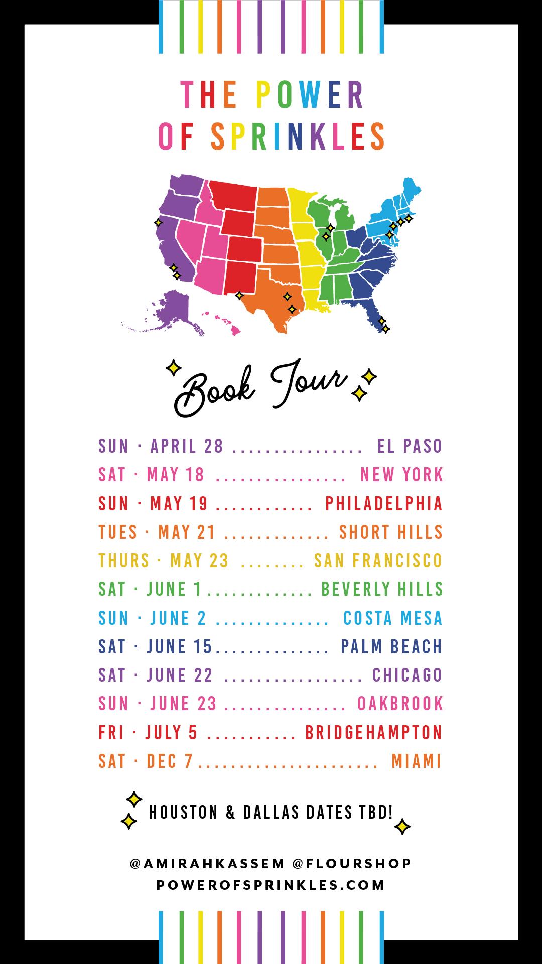 Power of Sprinkles Book Tour!